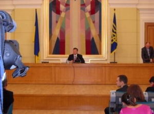 В.Ф. Янукович зустрівся з регіональною пресою.