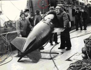 Воспоминания об опасной морской находке (Иванов Вячеслав, 1981 год)
