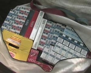 Вилучено партію контрабандних цигарок