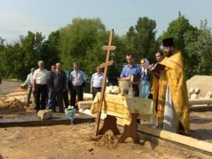 Невдовзі на Ізюмщині постане новий храм Святого Миколая