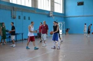 Тренувальні збори з баскетболу
