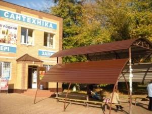 Автобусну зупинку в центрі міста відремонтували
