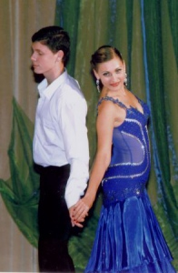 Справжні гусари і юні леді танцювали полонез