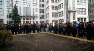 Харьковские «чернобыльцы» объявили бессрочную акцию протеста