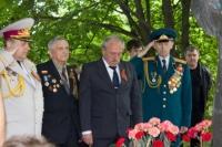 Фоторепортаж с празднования Дня Победы в городе Изюме