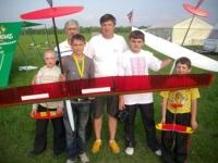 """Міжнародні змагання """"Wilga Cup F3J&F3K Eurotour Contest 2012"""" та обласні змагання з авіамодельного спорту"""