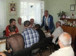 Турнір з шахів в пам'ять річниці з дня смерті Крюкова В.І.