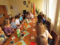Ізюмський голова зустрівся з дітьми , які повернулися з м.Красногорськ (Росія)