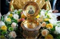 Встреча мощей святой блаженной Матроны Московской