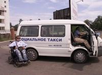 """В Луганске появилось бесплатное """"социальное такси"""""""