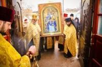 Песчанская икона Божией Матери посещает Луганскую епархию