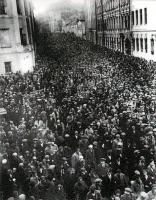 Похороны Маяковского, 1930 год.
