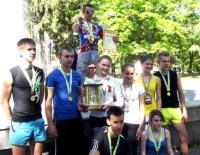 В Ізюмі пройшла традиційна легкоатлетична спортивна естафета