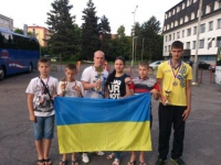 Изюмские спортсмены - чемпионы Открытого международного турнира по тхеквондо ВТФ