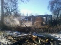 В Ізюмі чоловік загинув під час пожежі