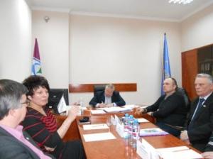 Віктор Остпачук зустрівся з депутатами Ізюма