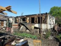 Вогонь завдав значних збитків жителям села Студенок на Ізюмщині
