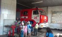 Маленькі ізюмчани ознайомилися з технікою, яка знаходиться на озброєнні пожежних-рятівників