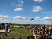 На Ізюмщині пройшов Концерт Ореста Лютого для військовослужбовців сил АТО
