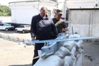На Ізюмщині знайдено безпілотний літальний апарат невідомого виробника