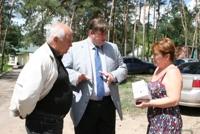 Міський голова Святогірська подякував Ігорю Балуті за допомогу