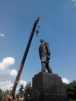 В Краматорске будут решать, что делать с Лениным