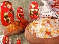 Кутья на Рождество из риса