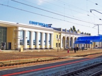 На железнодорожном перегоне возле Славянска поезд насмерть сбил трех человек