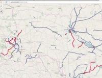 Создана карта качества ремонта дорог Украины