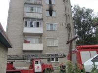 В Ізюмі  вогнем знищено майно в квартирі