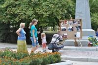 На День независимости  открыли доску Героев Изюма
