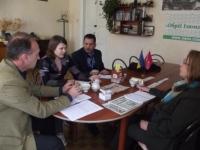В Ізюмі побували представники місії ОБСЄ