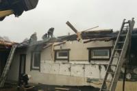 Ізюмський район: коротке замкнення електромережі стало причиною пожежі