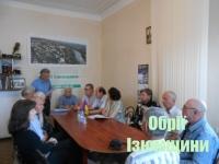 В Ізюмі пройшли збори журналістської організації