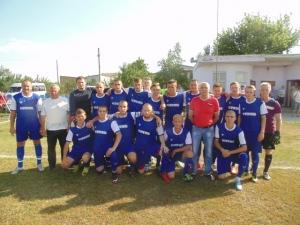 Ізюмські футболісти одержали першу перемогу
