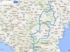 Болгарія і Румунія автостопом з України