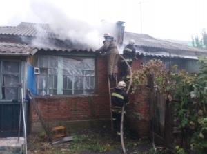 В Ізюмі за добу сталося дві пожежі від газових колонок