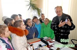 Цікава екскурсія в редакції газети «Обрії Ізюмщини»