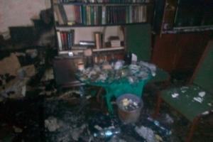 Ізюмський район: під час ліквідації пожежі рятувальники евакуювали 8 мешканців п'ятиповерхового житлового будинку, 1 чоловік загинув