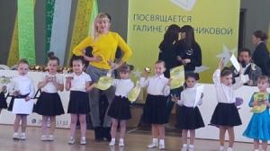 Перші сходинки маленьких танцівниць Ізюма