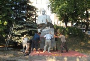 У Куп'янську відновлять пам'ятник Кобзарю