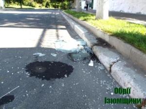 В Ізюмі викрадене авто потрапило в ДТП