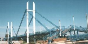 Пішохідний міст  в Ізюмі відремонтують