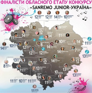 Юні ізюмчанки готуються до до фіналу обласного етапу конкурсу «Яскраві діти України»