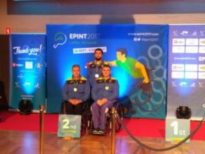 Ізюмчанин став срібним призером Чемпіонату Європи з настільного тенісу