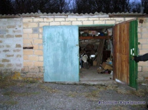Ізюмські поліцейські викрили гаражного крадія
