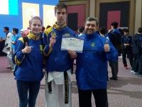 Изюмчанин выиграл бронзу на Чемпионате Европы