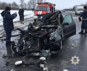 У ДТП загинуло  чотири людини