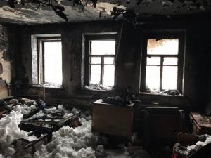 На Ізюмщині під час пожежі загинула жінка