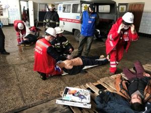 В Ізюмі пройшли кущові змагання між бригадами швидкої допомоги